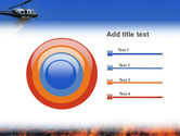 Wildfire PowerPoint Template#9