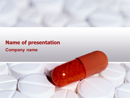 Medical: Medication PowerPoint Template #02592