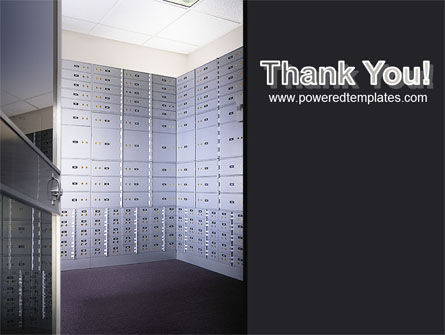 Safe Deposit Boxes PowerPoint Template Slide 20