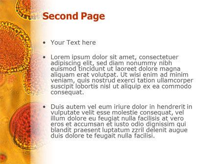 Cytology PowerPoint Template, Slide 2, 02595, Medical — PoweredTemplate.com