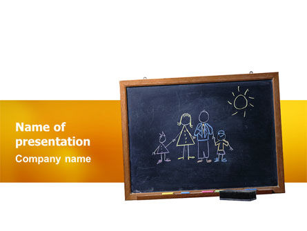Kids and School PowerPoint Template