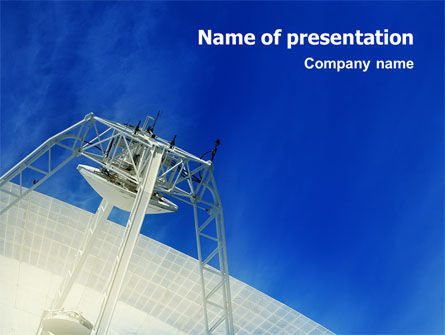Telecommunication: 通讯技术PowerPoint模板 #02598
