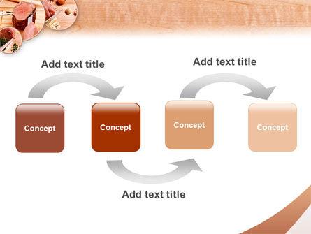 Kitchen Knives PowerPoint Template, Slide 4, 02599, Utilities/Industrial — PoweredTemplate.com