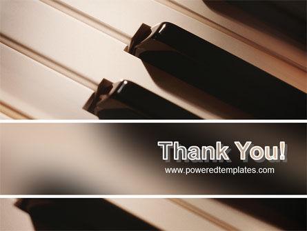 Piano Keys PowerPoint Template Slide 20