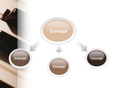 Piano Keys PowerPoint Template, Slide 4, 02601, Art & Entertainment — PoweredTemplate.com