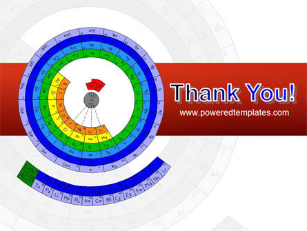 Circular Periodic Table PowerPoint Template Slide 20