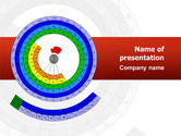 Education & Training: Circular Periodic Table PowerPoint Template #02602