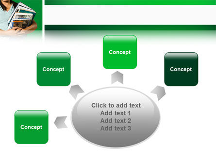Student PowerPoint Template Slide 7