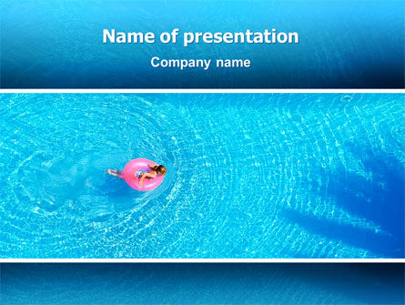 Summer Vacation PowerPoint Template, 02604, Holiday/Special Occasion — PoweredTemplate.com