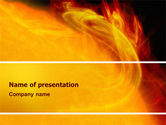 Technology and Science: Solar Flare PowerPoint Template #02606