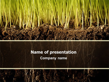 Soil powerpoint template backgrounds 02607 poweredtemplate soil powerpoint template 02607 nature environment poweredtemplate toneelgroepblik
