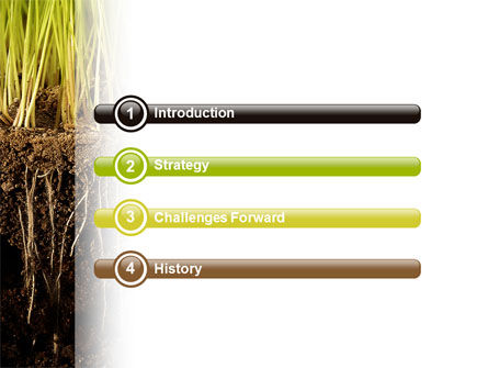 Soil powerpoint template backgrounds 02607 poweredtemplate soil powerpoint template slide 3 02607 nature environment poweredtemplate toneelgroepblik