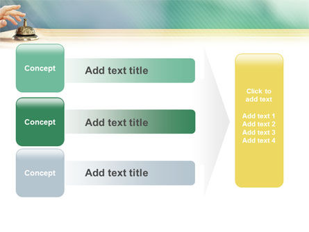 Reception Desk PowerPoint Template Slide 12