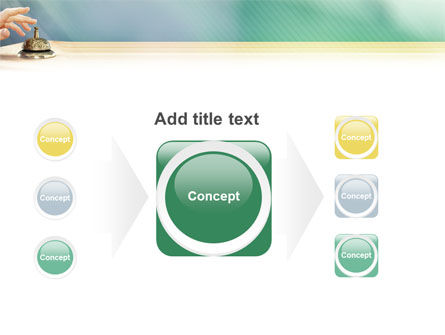 Reception Desk PowerPoint Template Slide 17