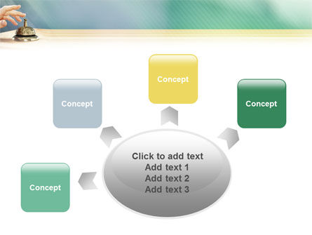 Reception Desk PowerPoint Template Slide 7