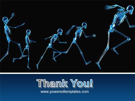 Human Skeleton PowerPoint Template Slide 20
