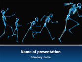Medical: Human Skeleton PowerPoint Template #02610