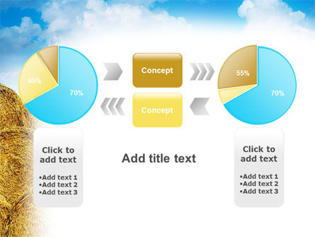 Rolls Of Hay PowerPoint Template Slide 11