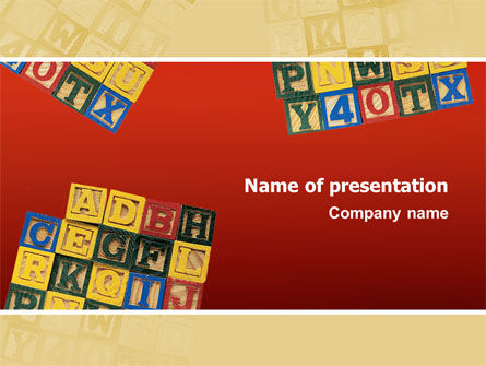 Play and Learn PowerPoint Template