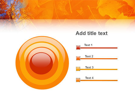 Autumn Woods PowerPoint Template Slide 9