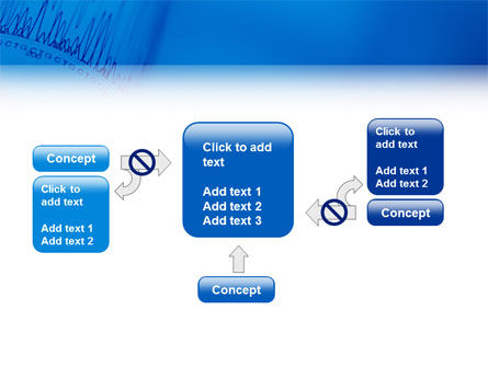 ECG in Blue PowerPoint Template Slide 13