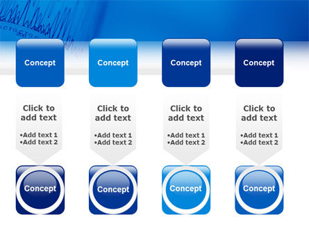 ECG in Blue PowerPoint Template Slide 18