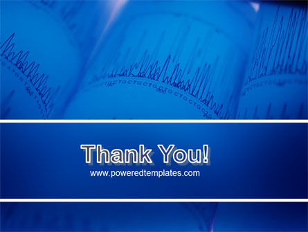 ECG in Blue PowerPoint Template Slide 20