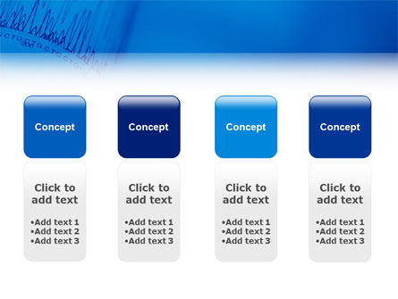 ECG in Blue PowerPoint Template Slide 5