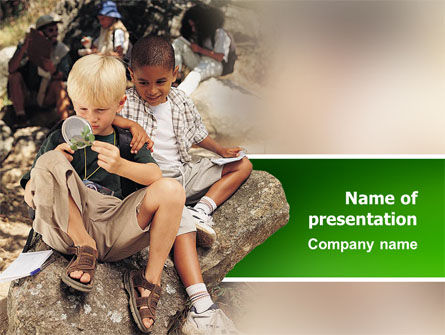 People: Natural History PowerPoint Template #02618