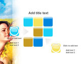 Summer of Love PowerPoint Template#16