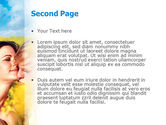 Summer of Love PowerPoint Template#2