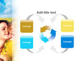 Summer of Love PowerPoint Template#6