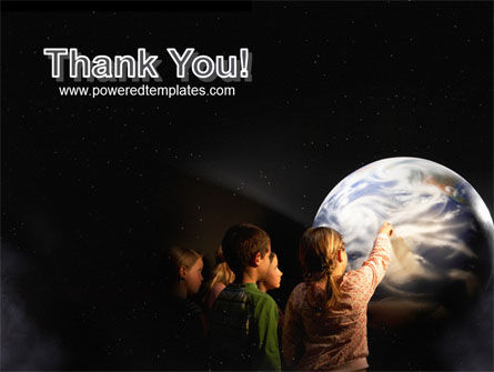 Planetarium PowerPoint Template Slide 20