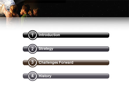 Planetarium PowerPoint Template Slide 3