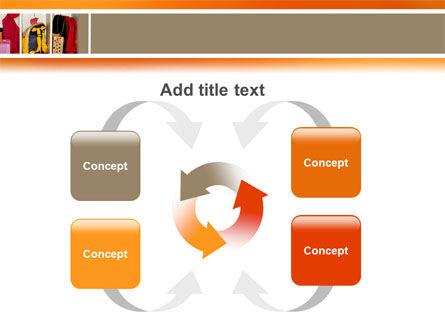 School Cubbyholes PowerPoint Template Slide 6
