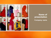 Education & Training: School Cubbyholes PowerPoint Template #02627