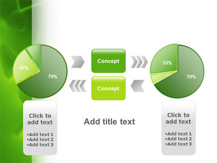 Green Numbers PowerPoint Template Slide 11