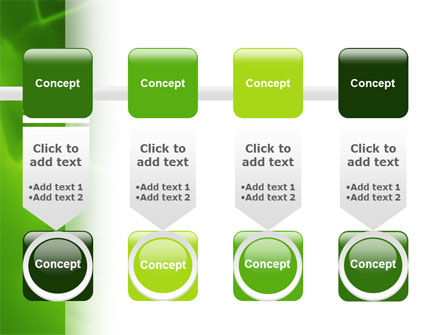 Green Numbers PowerPoint Template Slide 18