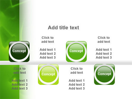 Green Numbers PowerPoint Template Slide 19