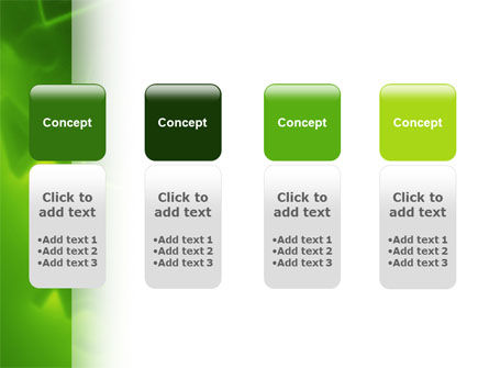 Green Numbers PowerPoint Template Slide 5