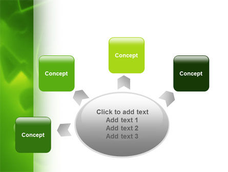 Green Numbers PowerPoint Template Slide 7