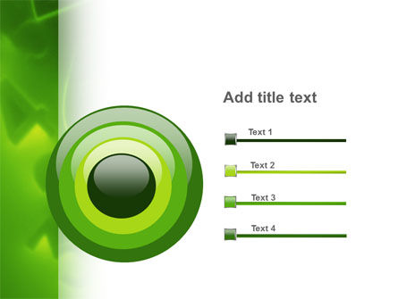 Green Numbers PowerPoint Template Slide 9