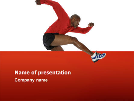 Sports: Breaking Barriers PowerPoint Template #02629