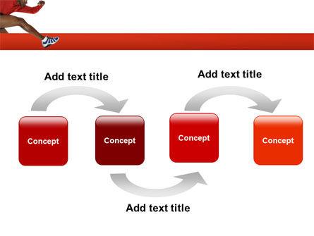 Breaking Barriers PowerPoint Template, Slide 4, 02629, Sports — PoweredTemplate.com
