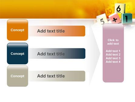 Arithmetic Cubes PowerPoint Template Slide 12