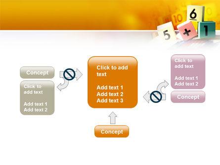 Arithmetic Cubes PowerPoint Template Slide 13