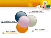 Arithmetic Cubes PowerPoint Template#10
