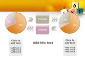Arithmetic Cubes PowerPoint Template#11