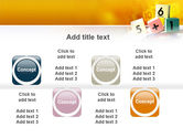 Arithmetic Cubes PowerPoint Template#19