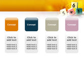 Arithmetic Cubes PowerPoint Template#5